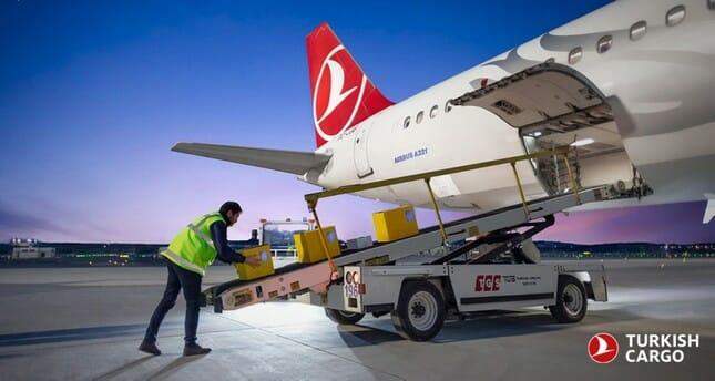 الشركة التركية للشحن تطلق رحلاتها من مطار إسطنبول الجديد بنقل العلم الوطني