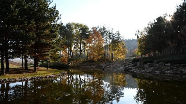 بالصور.. الحديقة اليابانية في تركيا تستقبل أكثر من 100 ألف زائر في 2018
