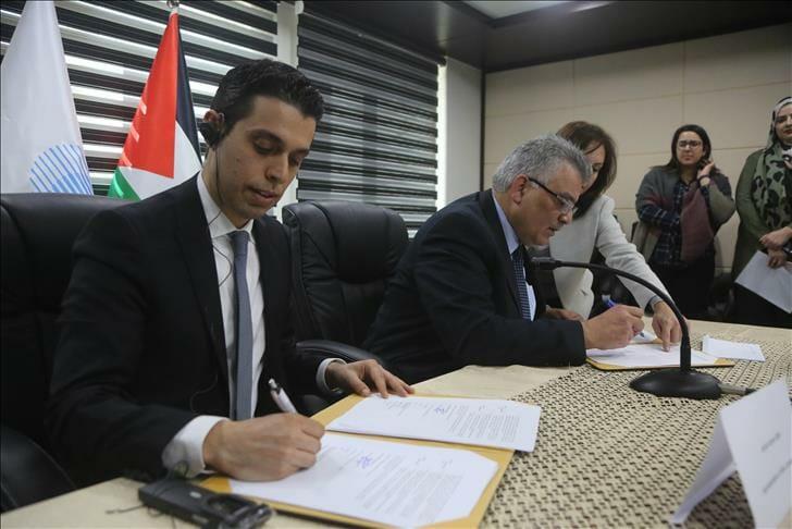 شركة تركية توقع عقد بناء وتشغيل محطة معالجة مياه في فلسطين