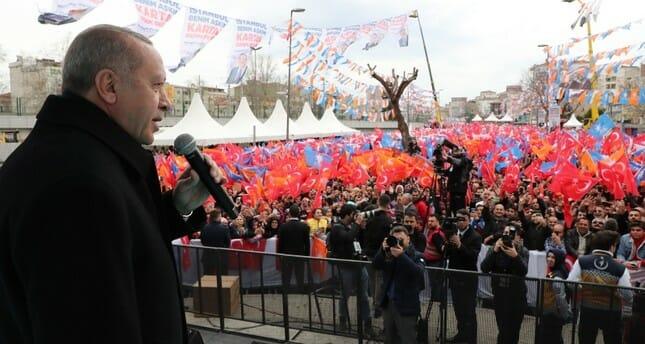 أردوغان: عازمون على جعل إسطنبول الوجهة الأولى للسياح في العالم