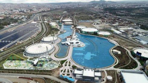 """افتتاح """"وندرلاند أوراسيا"""" في أنقرة.. أكبر مدينة ملاهي في أوروبا"""