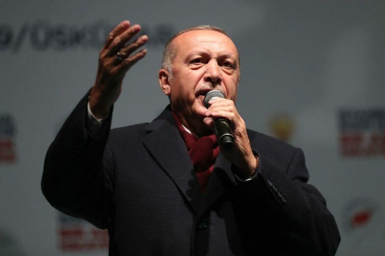 """أردوغان: نخطط بعد الانتخابات لإعادة """"آيا صوفيا"""" إلى أصله وتسميته مسجدًا"""