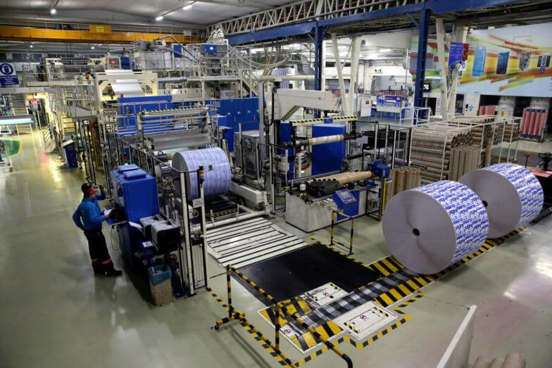 ارتفاع الانتاج الصناعي التركي واحد في المئة خلال يناير