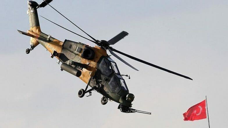 مروحية أتاك التركية تستعد للمشاركة في معرض الصناعات الدفاعية بالبرازيل