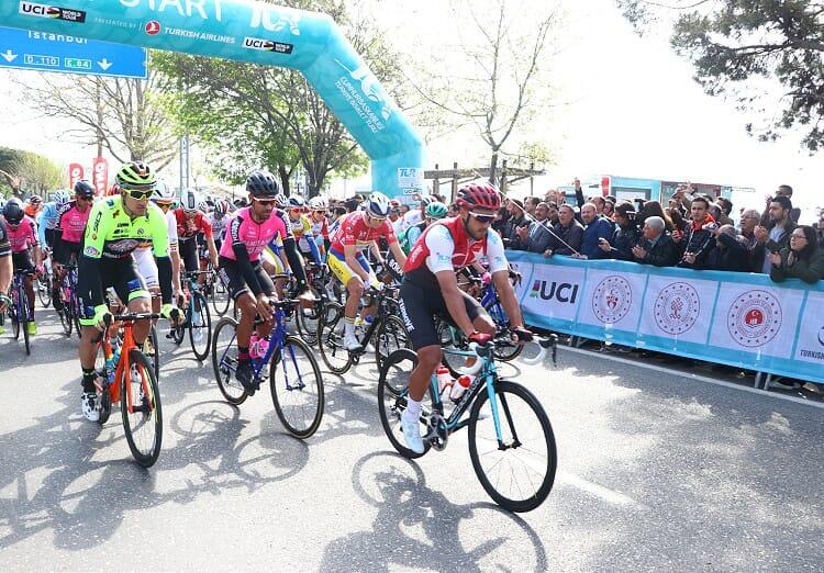 2019 Nisan bisikletruru 1 - انطلاق الجولة الثانية من سباق الرئاسة التركية للدراجات الهوائية