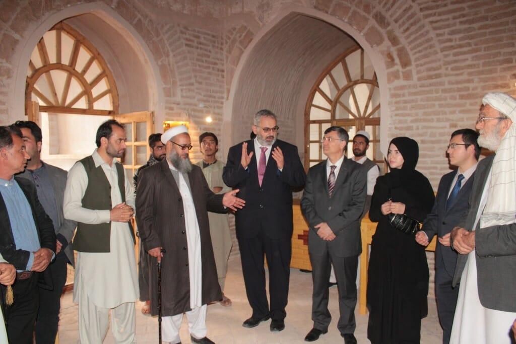 """4 yeni.1024. - """"تيكا"""" التركية ترمم أعرق المساجد في آسيا الوسطى"""