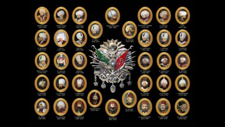 كم عدد حكام الدولة العثمانية؟