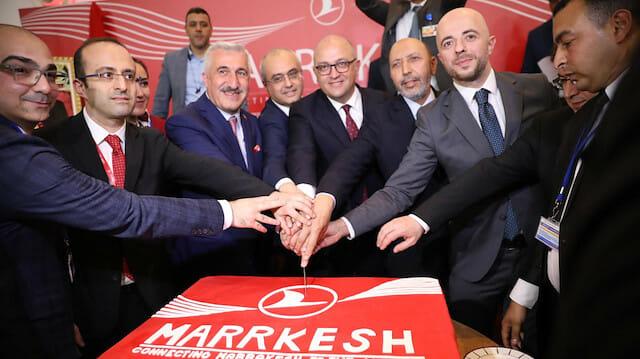 """""""الخطوط التركية"""" تطلق خطًّا جويًّا بين إسطنبول ومراكش"""