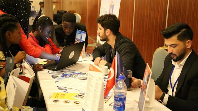 انطلاق معرض التعريف بالجامعات التركية في نيجيريا