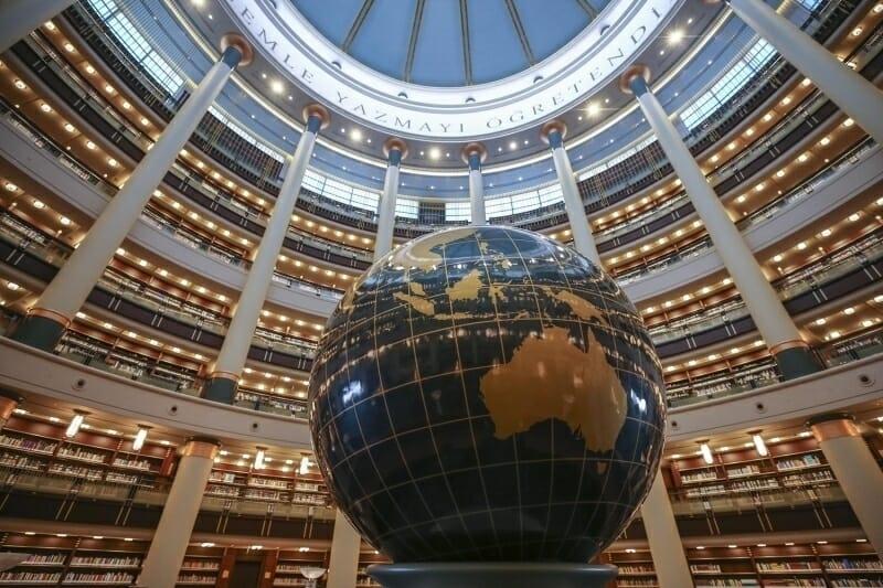 170220201581958147726ec336 - {فديو} بحضور أردوغان.. افتتاح أكبر مكتبة في تركيا بجانب المقر الرئاسي