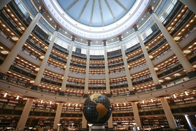 170220201581958147d0327be4 - {فديو} بحضور أردوغان.. افتتاح أكبر مكتبة في تركيا بجانب المقر الرئاسي