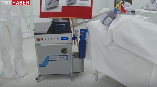 إنتاج 500 جهاز تنفس تركي الصنع