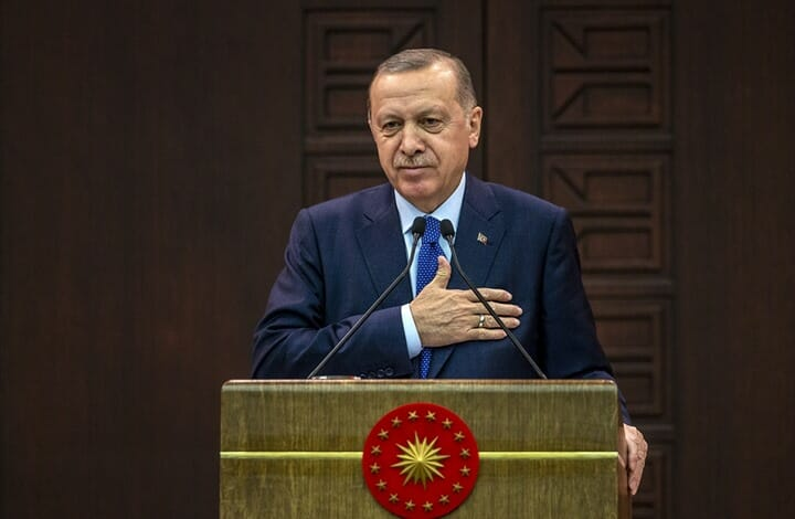 أردوغان: سنرتقي بتركيا إلى مكانة مرموقة في النظام العالمي الجديد