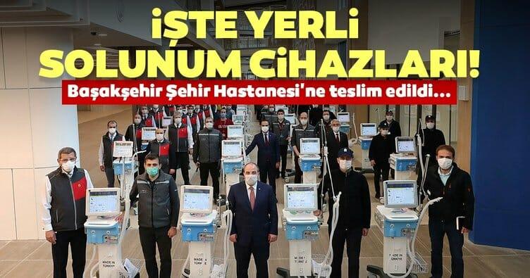 وزارة الصناعة التركية تسلّم مستشفى المدينة 100 جهاز للتنفس محلية الصنع