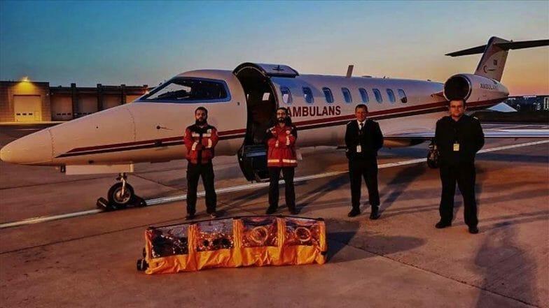 تركيا ترسل طائرة إسعاف لجلب مواطن رفضت السويد معالجته