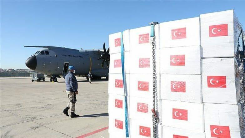 وزيرا الصحة البريطاني والروسي يشكران تركيا على المساعدات الطبية