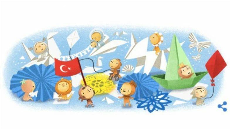 """""""غوغل"""" يشارك تركيا الاحتفال بـ""""عيد الطفولة والسيادة الوطنية"""""""
