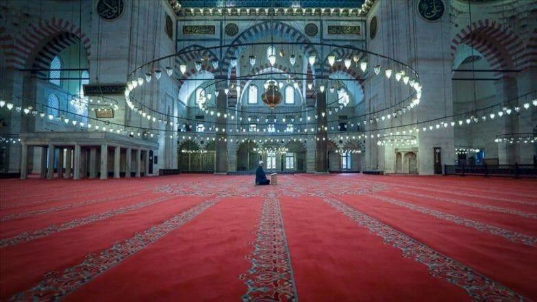 إسطنبول.. الهدوء يعمّ مسجد السليمانية لأول مرة منذ قرون