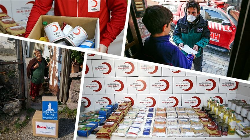 مساعدات رمضانية شاملة.. المنظمات التركية تدعم الصائم وتكافح الوباء