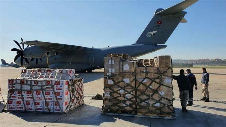 """مساعدات تركية """"سخية"""" لفلسطين"""