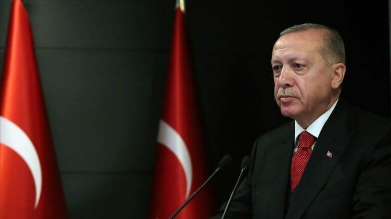 الرئيس أردوغان ينشر صورة للكعبة مهنئا بحلول رمضان