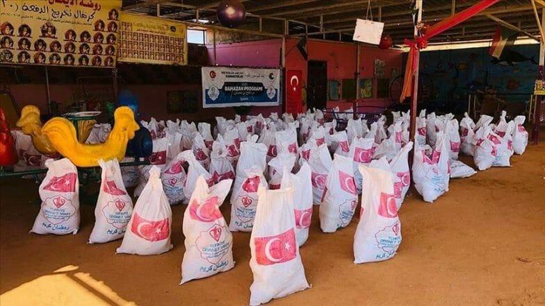 في رمضان.. تركيا تستعد لتوزيع 17 ألف طرد غذائي بالسودان