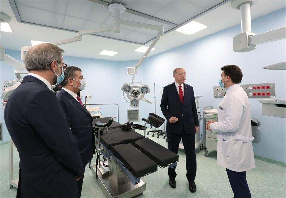 101343332 2912756038771576 5983342528017989632 o - تركيا ... افتتاح مستشفى بني خلال 45 يوما فقط