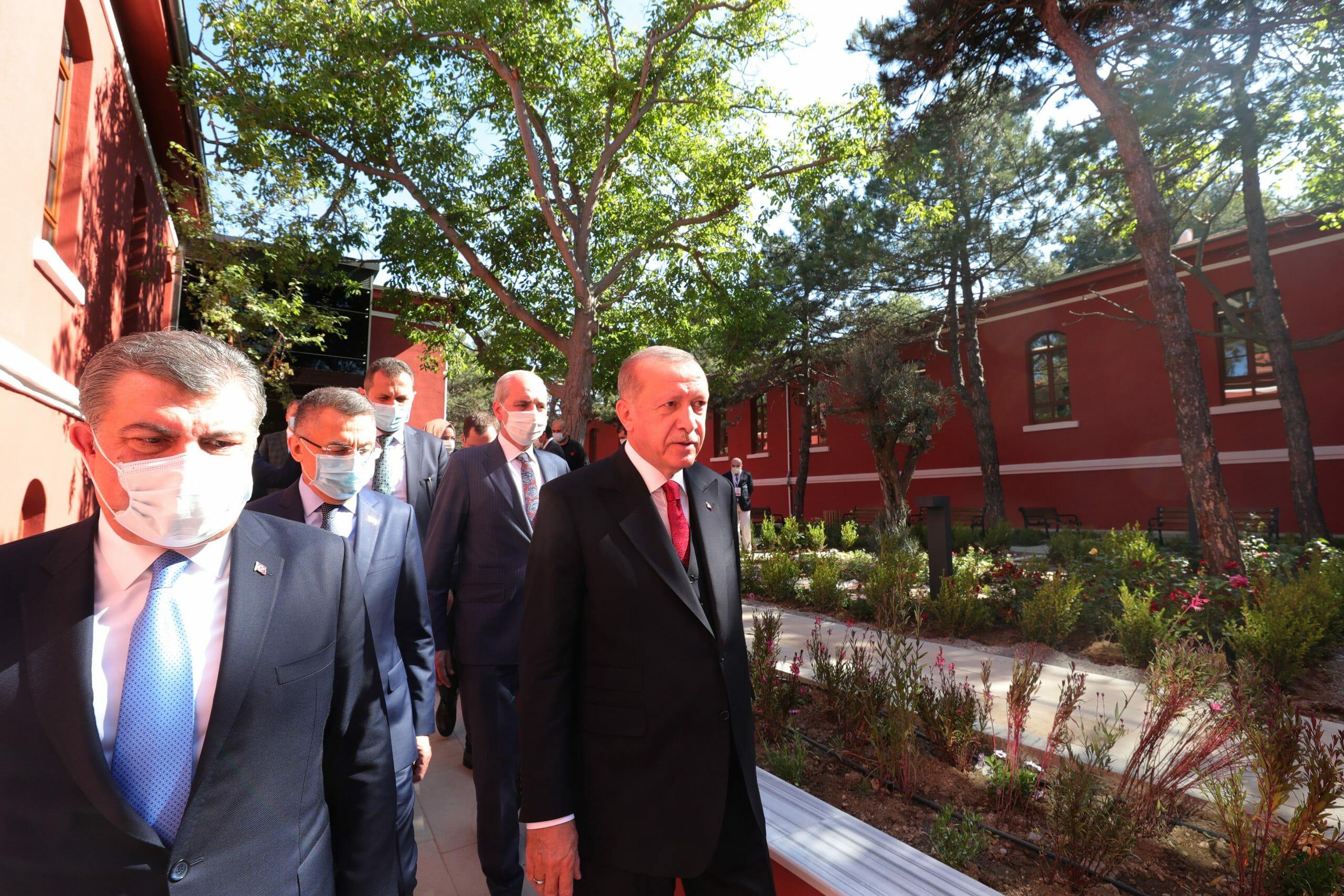 """20200531 2 42726252 55505427 scaled - أردوغان يعيد افتتاح مستشفى """"حميدية"""" التاريخي"""