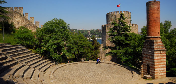 """4 13 - """"روملي حصار"""" أقدم قلعة تاريخية في تركيا"""