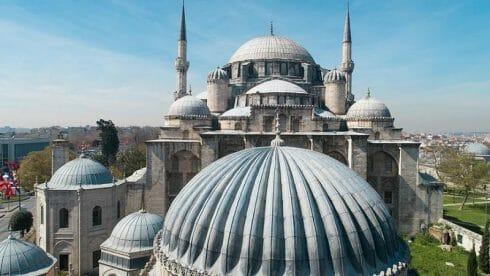 جامع شاه زاده في إسطنبول درّة من درر المعمار سنان