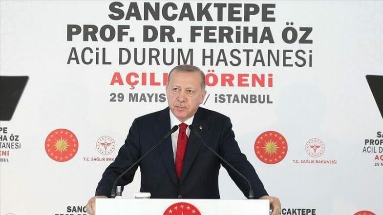 أردوغان: التأمين الصحي في تركيا نموذج عالمي ناجح