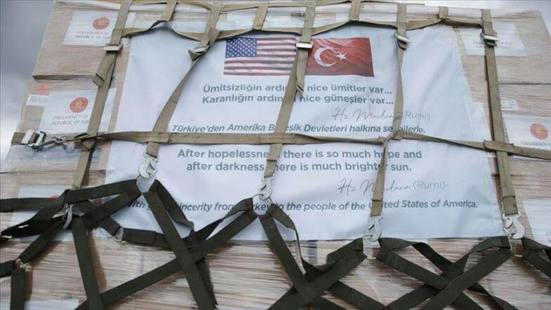 مسؤول أمريكي يشكر تركيا على مساعدتها الطبية لبلاده لمواجهة كورونا