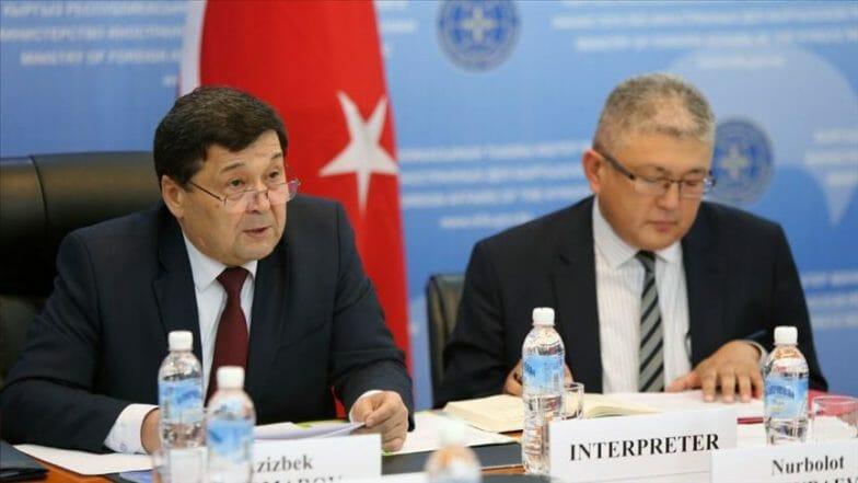 انعقاد اجتماع تشاوري سياسي بين تركيا وقيرغيزيا