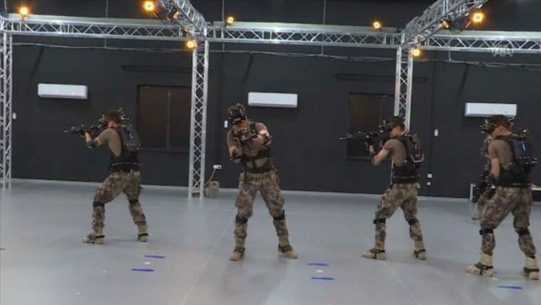 القوات الخاصة التركية تتدرب عبر أوساط افتراضية ثلاثية الأبعاد