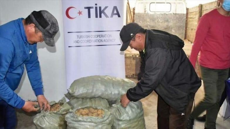 تركيا تدعم فلاحي منغوليا بتشييد مستودع للخضراوات