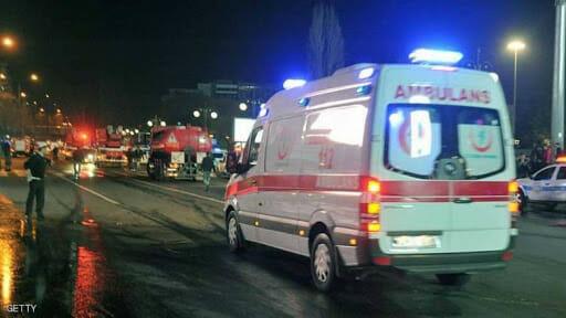 المشافي التركية تعالج عائلة سورية تعرضت للحرق في حلب