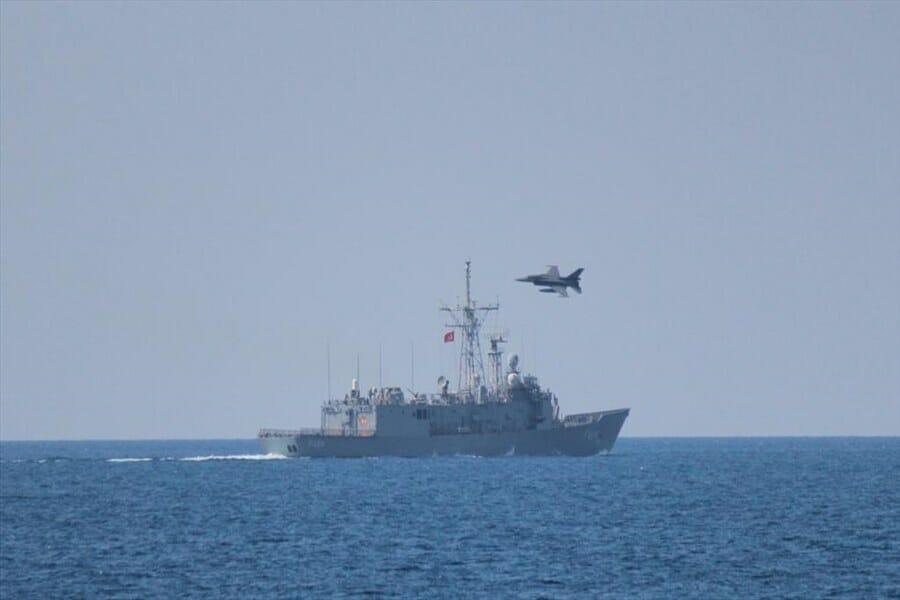 542427 - تركيا تجري مناورات بحرية جوية ضخمة شرقي المتوسط