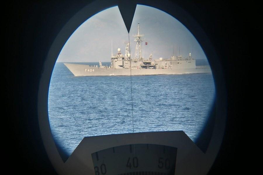8977 - تركيا تجري مناورات بحرية جوية ضخمة شرقي المتوسط