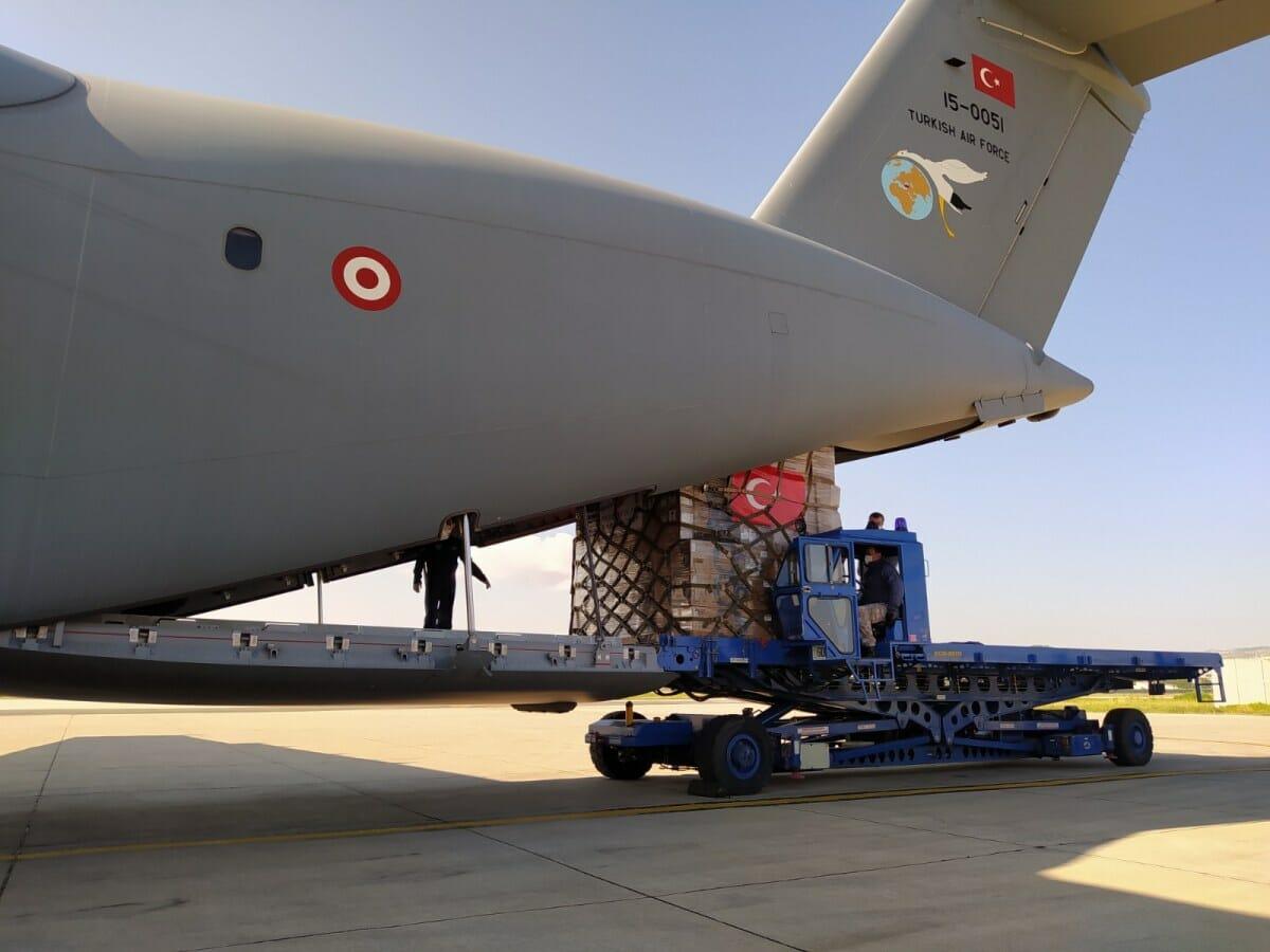 "EZpSPUCWkAAfJZ5 - قوجة: تركيا قدمت مساعدات طبية لمواجهة ""كورونا"" إلى 102 دولة"