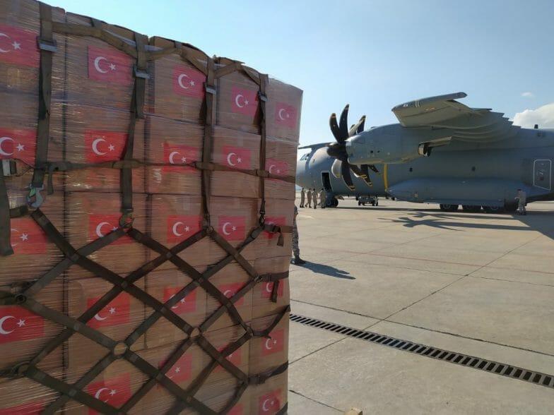 بطائرة شحن عسكرية.. تركيا ترسل مساعدات طبية ضخمة للنيجر
