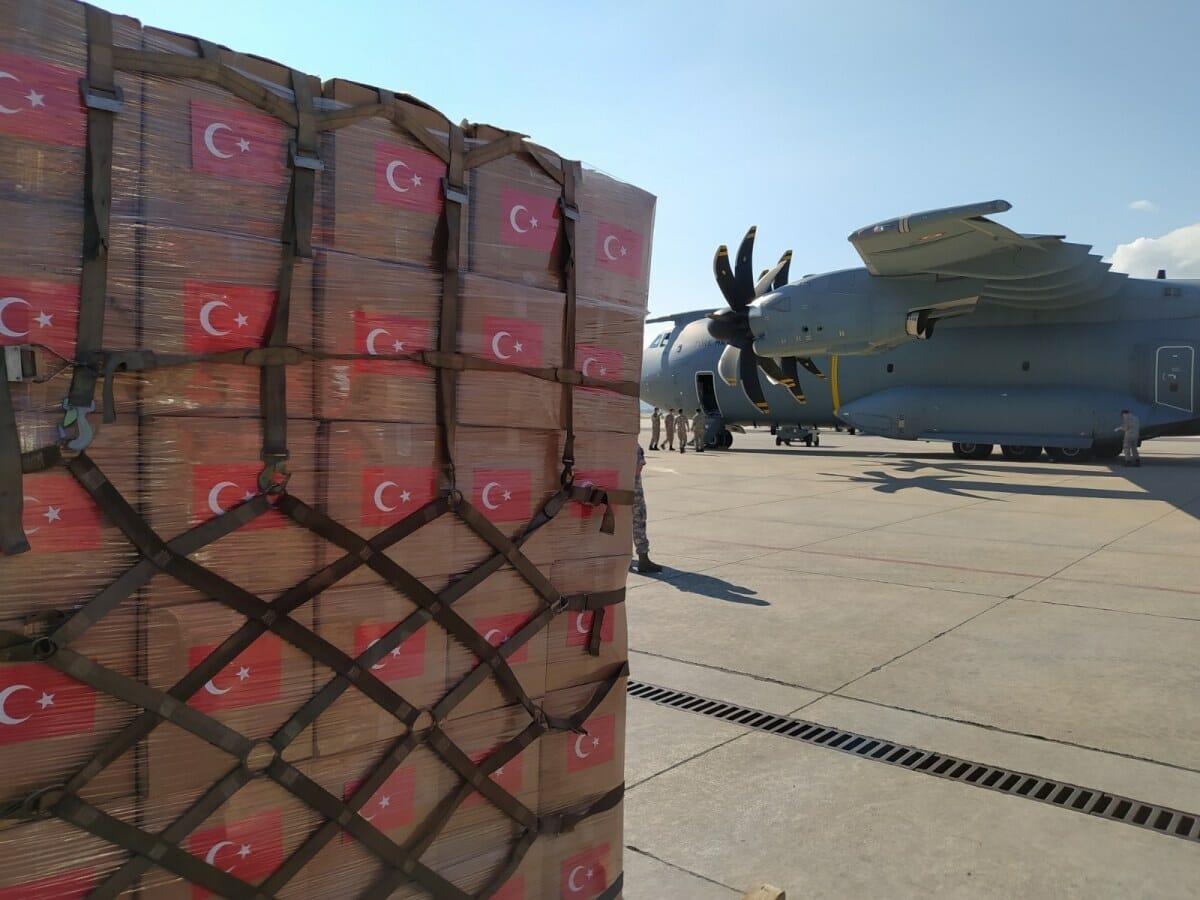 EZpUfBuXYAAVQBB - بطائرة شحن عسكرية.. تركيا ترسل مساعدات طبية ضخمة للنيجر