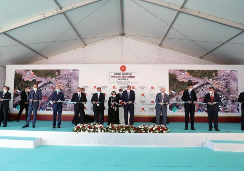 أردوغان يفتتح مستشفى جديدا: تركيا تستعد لدخول حقبة متطورة