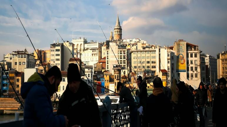 عدد سكان اسطنبول وعدد سكان أقضيتها