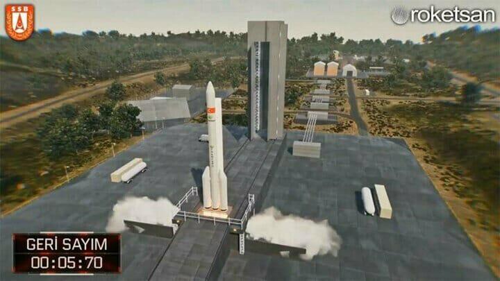 تركيا تعلن موعد إطلاق قمرها الصناعي المصغر