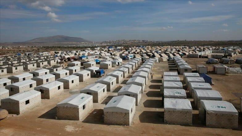 بدعم من متبرعين أتراك.. إنشاء حي للنازحين في إدلب