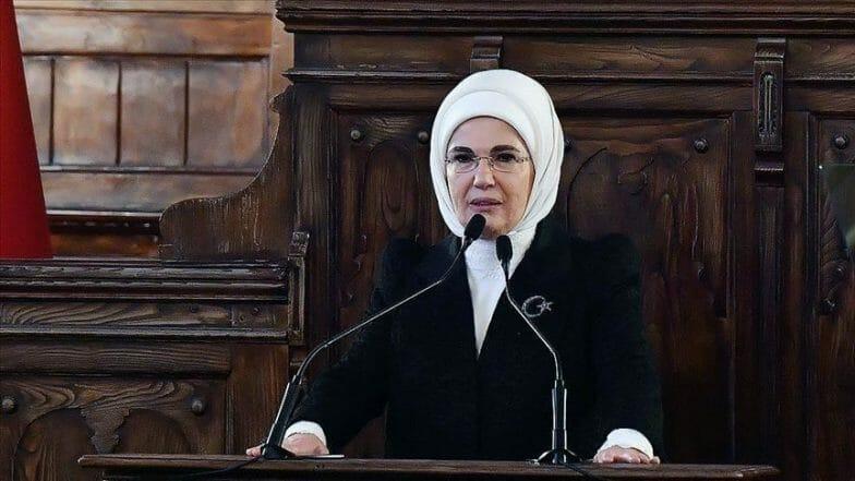 أمينة أردوغان تدعو نظيراتها لتبني مشاريع لصالح الصحة العامة