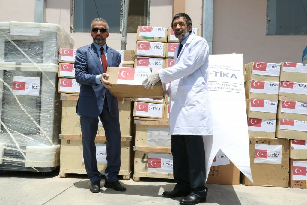 2.1024. - تركيا تقدم مساعدات طبية لأفغانستان وبنغلاديش