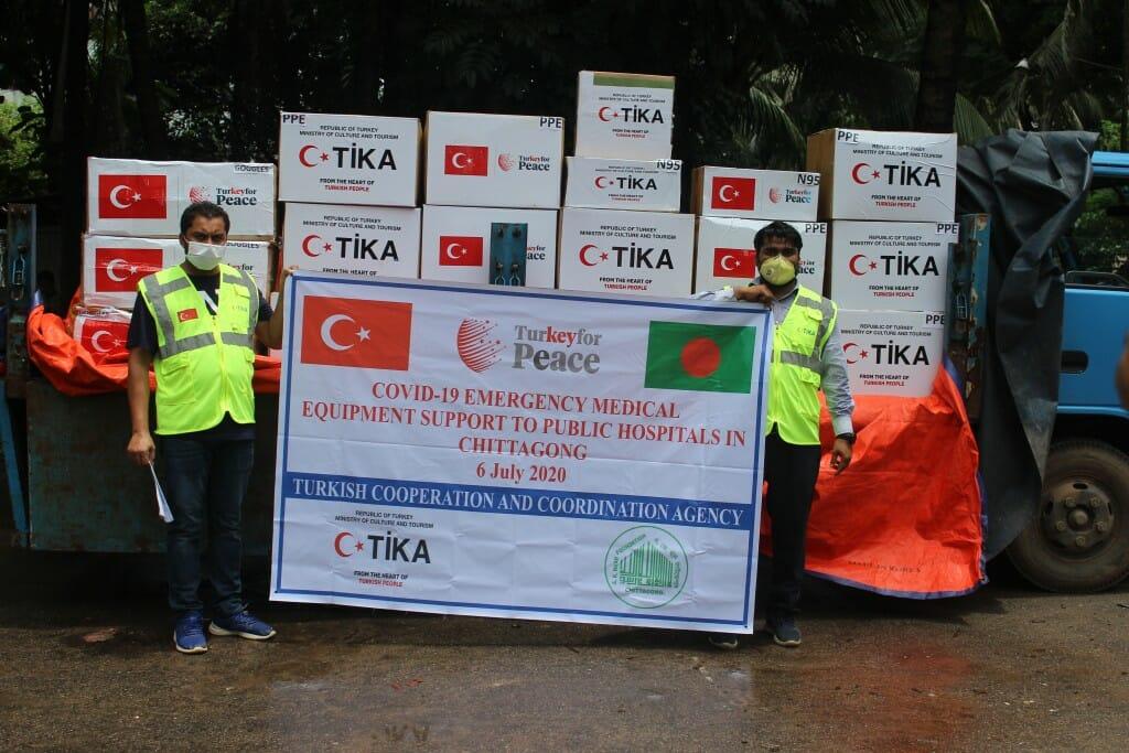 3.1024. - تركيا تقدم مساعدات طبية لأفغانستان وبنغلاديش