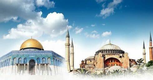 لماذا ربط أردوغان بين إحياء مسجد آيا صوفيا وحرية المسجد الأقصى؟