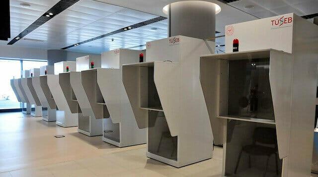 افتتاح مركز اختبار للكشف عن كورونا في مطار إسطنبول